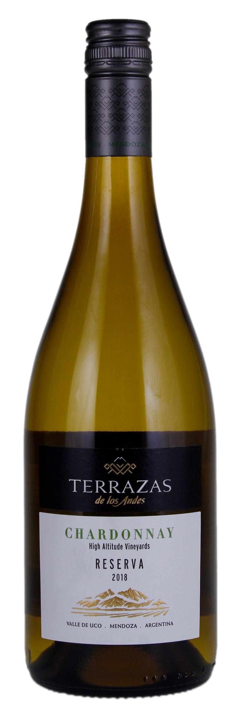 Terrazas De Los Andes Chardonnay Reserva Screwcap 2018