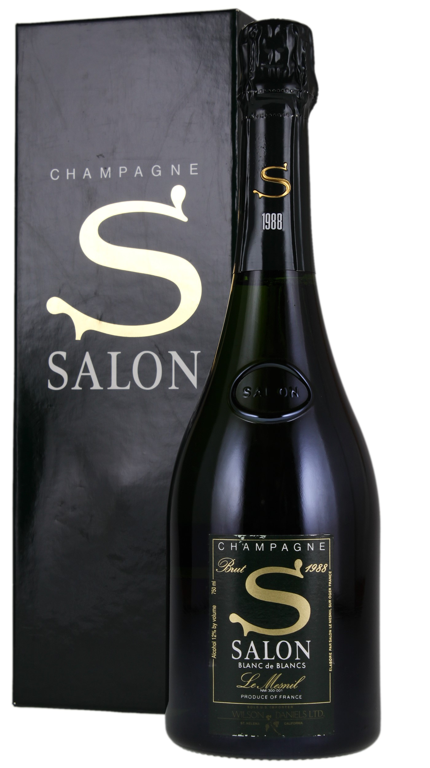 Salon Le Mesnil Blanc de Blancs 1988, Sparkling from France - WineBid