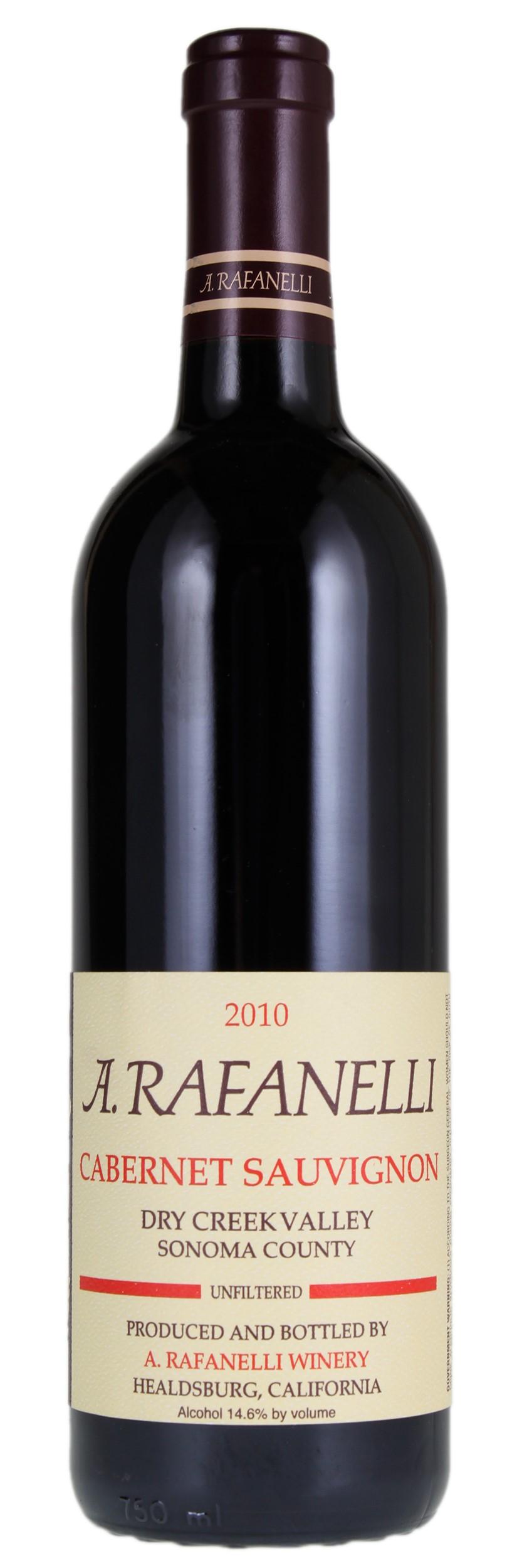 2010 a rafanelli cabernet sauvignon item 6113212 winebid