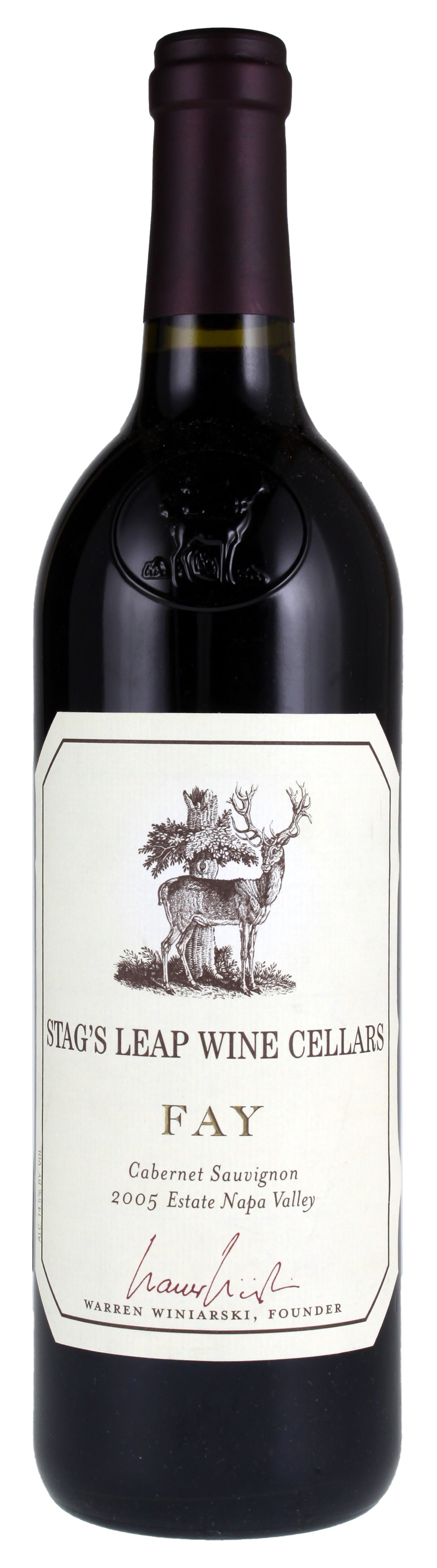/BuyWine/Item/Auction/174136/2005-Stags-Leap-Wine-Cellars -Fay-Vineyard-Cabernet~  sc 1 st  WineBid & Stagu0027s Leap Wine Cellars Fay Vineyard Cabernet Sauvignon 2005 Red ...