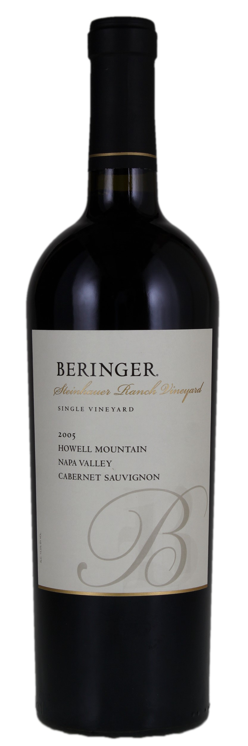 Wine Item Auction 162621 2005 Beringer Steinhauer Ranch Cabernet Sauvignon