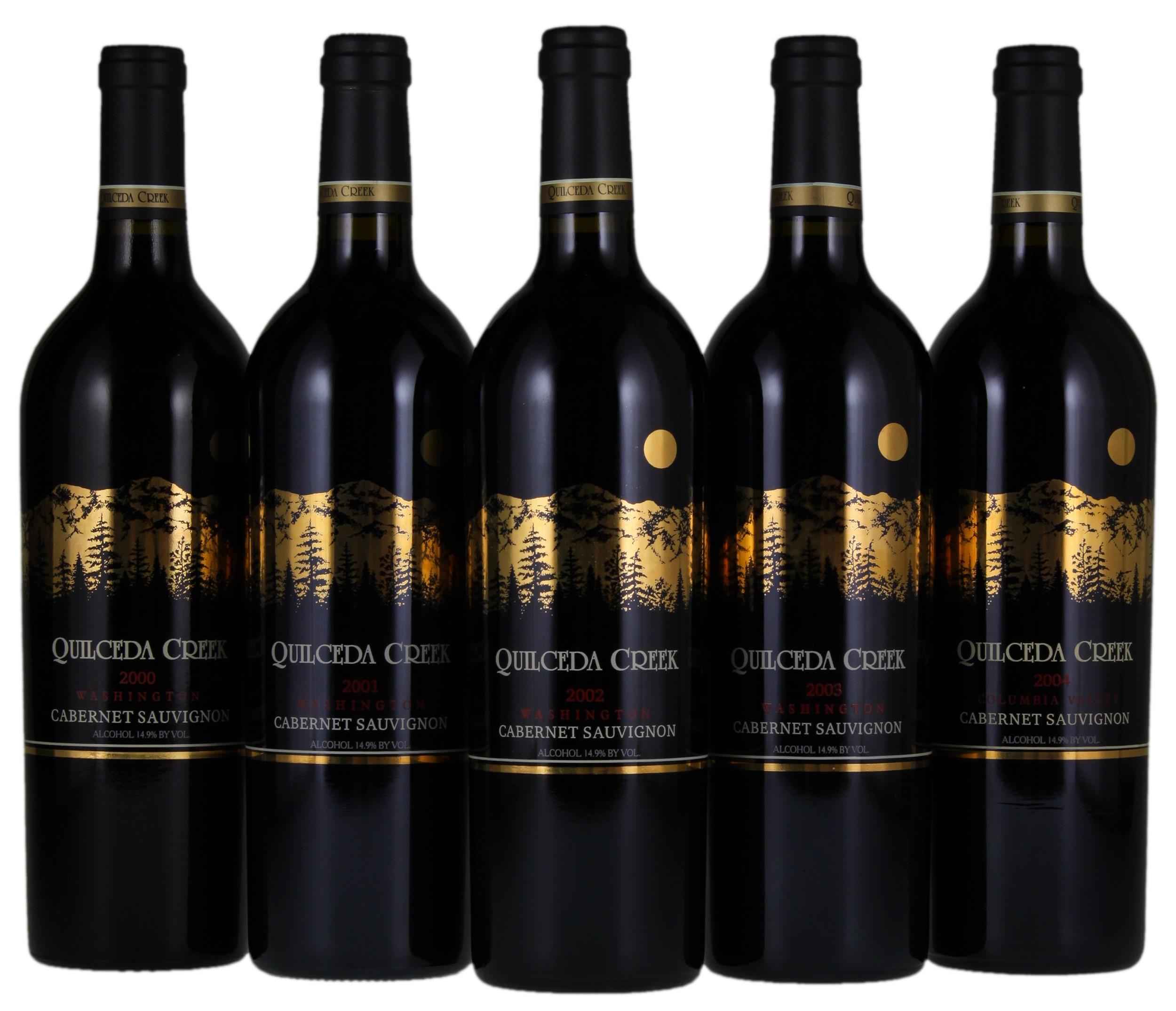 BuyWine Item Auction 143763 2000 2004 Quilceda Creek Cabernet Sauvignon 5 Bott