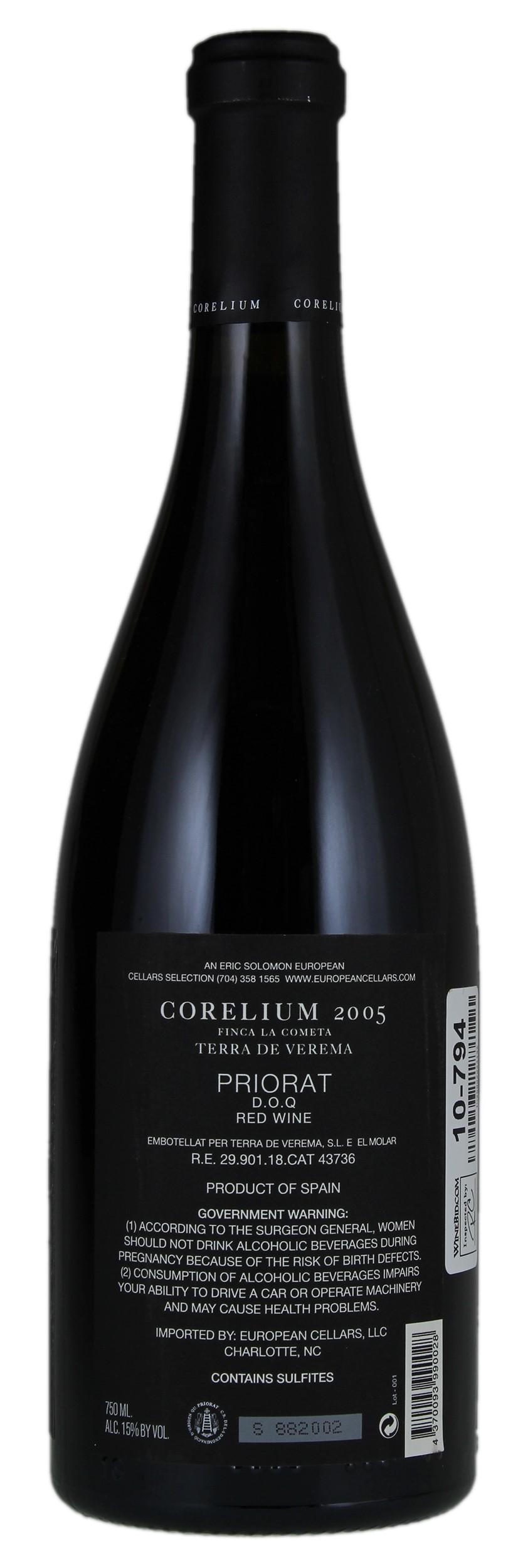 /BuyWine/Item/Auction/1020259/2005-Terra-de-Verema-Corelium-Finca-La-Cometa-6-bo~  sc 1 st  WineBid & Terra de Verema Corelium Finca La Cometa 2005 Red Wine from Spain ...