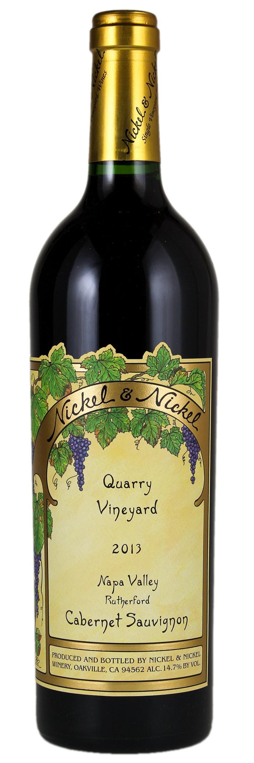 2013 Nickel and Nickel Red Wine, Cabernet Sauvignon | WineBid