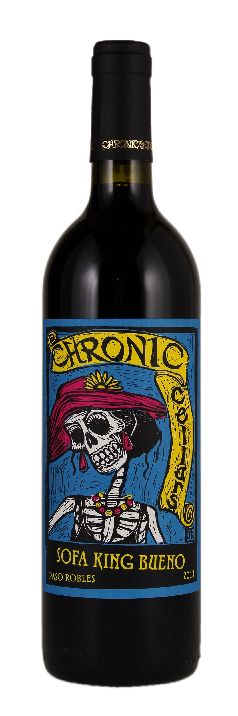 Chronic Cellars Sofa King Bueno 2013 Red Wine From United States