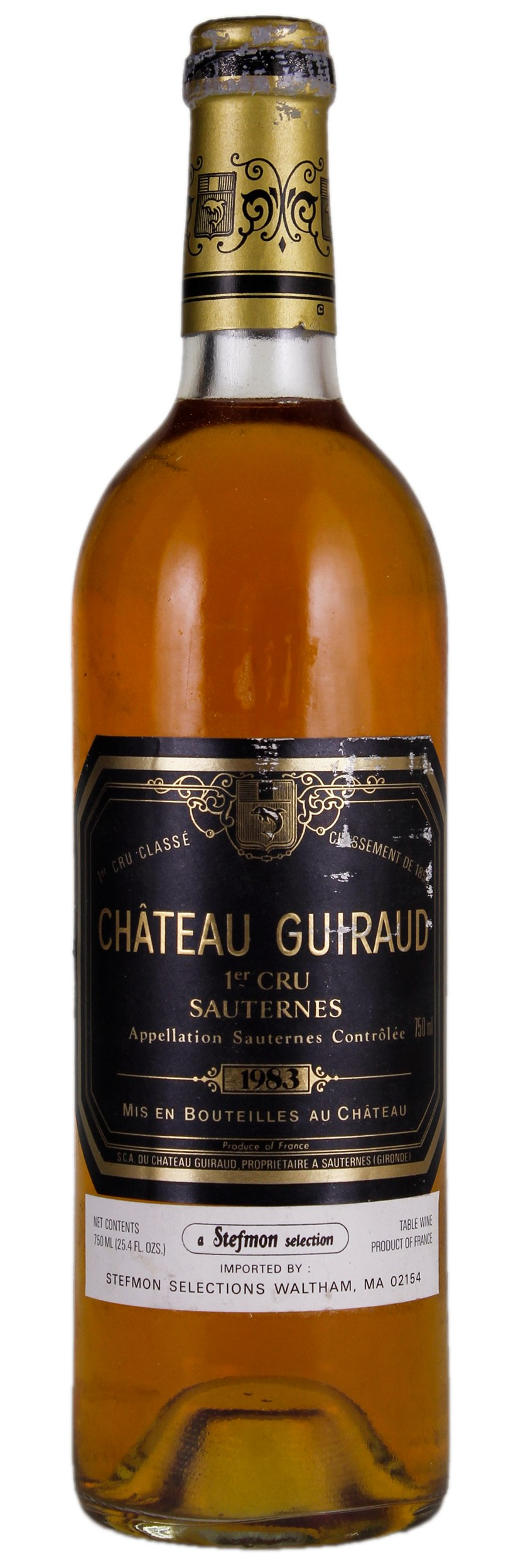BuyWine Item Auction 23640 1983 Chateau Guiraud