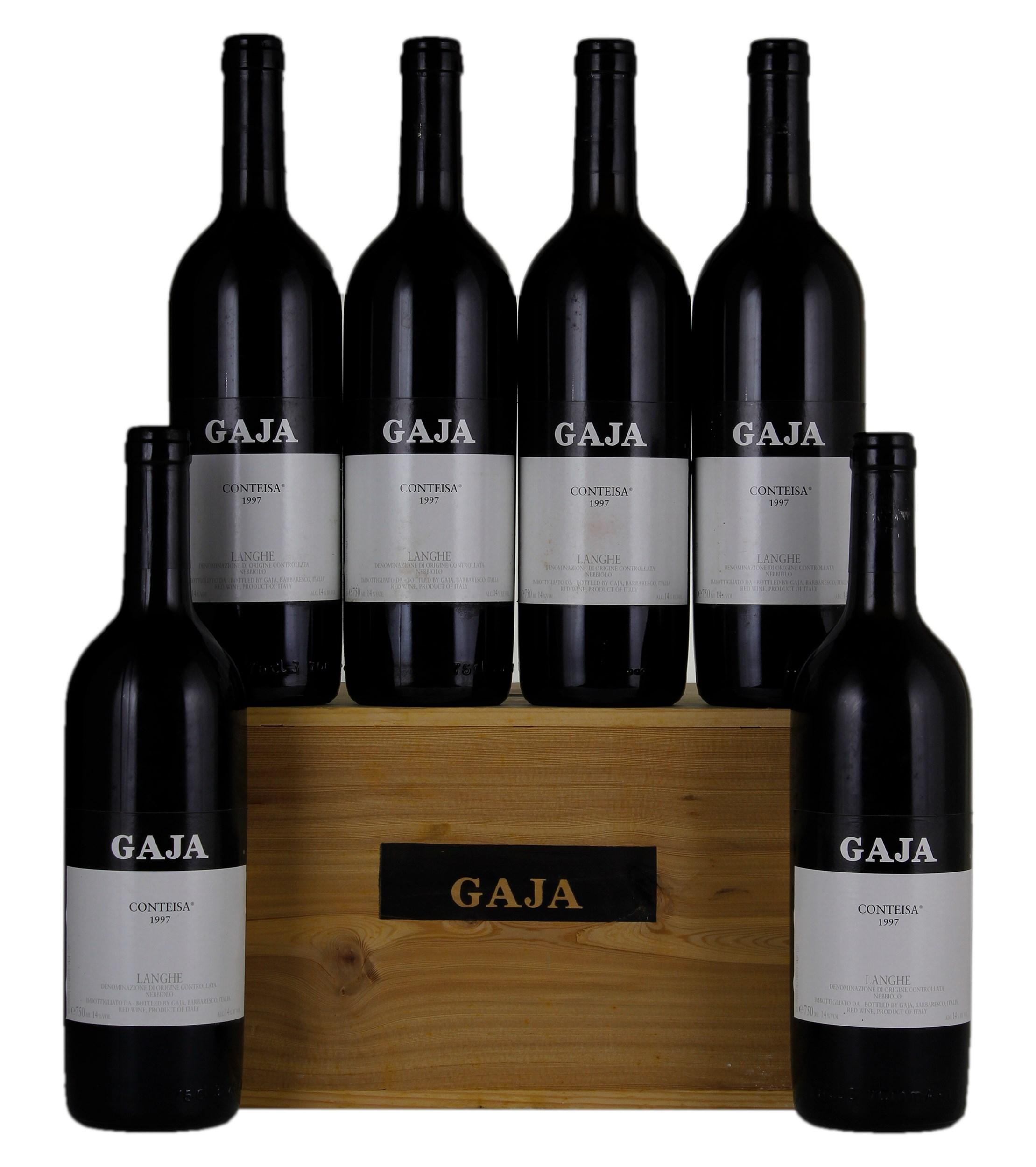 Gaja Langhe Conteisa 1997, Red Wine from Italy - WineBid