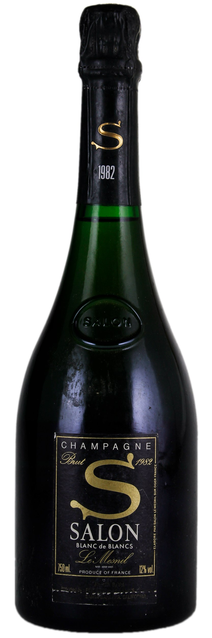 Salon Le Mesnil Blanc de Blancs 1982, Sparkling from France - WineBid