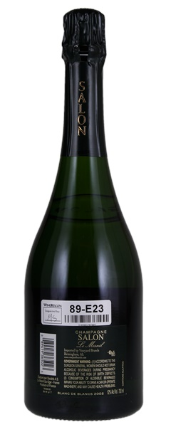 Salon Le Mesnil Blanc de Blancs 2002, Sparkling from France - WineBid