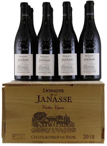 Image result for domaine de la janasse 2010 with case