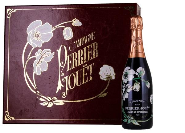 1989 Perrier-Jouet Fleur de Champagne - 4 Glass Gift Set